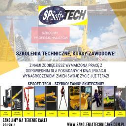 SpSoft-tech - Kurs Operatora Wózka Widłowego Katowice