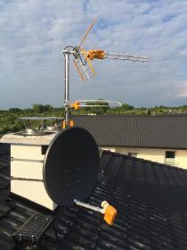 Instalacje TV - Montaż anten Szczecin