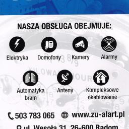 """Zakład Usługowy """"ALART"""" - Inteligentne Budynki Radom"""