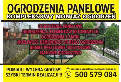 TOP-ART - Montaż ogrodzenia Staszów