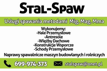 Stal-Spaw - Projektowanie konstrukcji stalowych Cieciułów