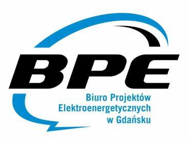 BPE - Biuro Projektów Elektroenergetycznych w Gdańsku, mgr inż. Łukasz Szokalski - Projektowanie Instalacji Elektrycznych Gdańsk