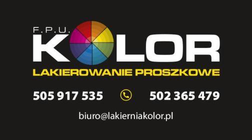 FPU Kolor - Lakiernia proszkowa - Piaskowanie Wrząsowice