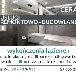 """""""Ceramix"""" Paweł Komadowski Usługi Remontowo Budowlane - Glazurnik Bełżec"""