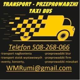 WMRumi transport-przeprowadzki - Transport busem Sosnowiec