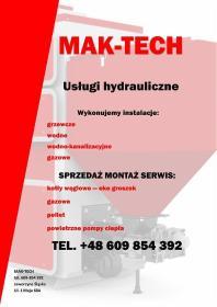 Mak - tech Mariusz Mak - Instalacje Jaworzyna Śląska