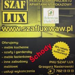 PHU SZAF LUX GRZEGORZ NASIEROWSKI - Schody Metalowe Wewnętrzne Warszawa