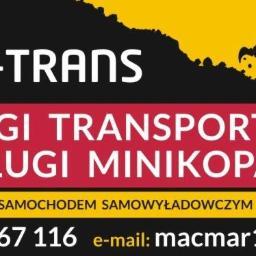 MAR-TRANS - Wyburzenia Bielsko-Biała