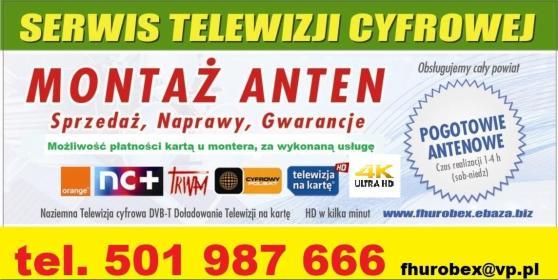 Montaż Anten 501987666 - Instalacje Lubin