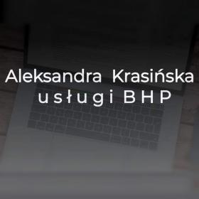 ALEKSANDRA KRASIŃSKA - USŁUGI BHP - Szkolenia BHP Warszawa