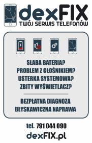 dexFIX.pl - Serwis telefonów - Systemy i usługi Trzebnica