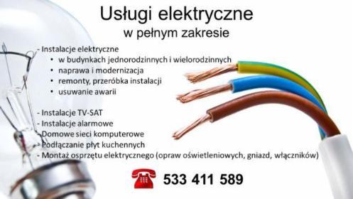 Usługi elektroinstalacyjne - Projekty Elektryczne Olsztyn
