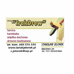 F.P.U.H.TRAKDREW - Drewno kominkowe Żegocina
