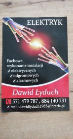Instalacje Elektryczne Dawid Łyduch - Montaż oświetlenia Grabie