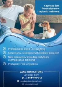 Czystszy Dom - Pranie Tapicerki Kraków
