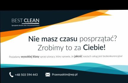 Bestclean Przemysław Nowak - Mycie elewacji Szczecin