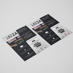 Projekt ulotki dla JetZone24
