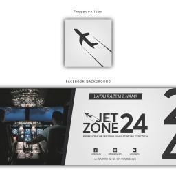 Tło i miniatura na FB JetZone24