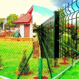 Płoty panelowe - Montaż ogrodzenia Karmin