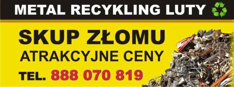 Złomowisko Drezdenko Metal Recykling Luty Agnieszka Jenek - Przetwarzanie odpadów Drezdenko