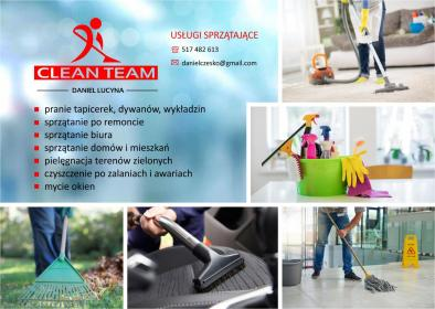 CLEAN TEAM - Sprzątanie biur Rawa Mazowiecka