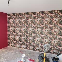 Malowanie ścian, sufitów, Tapetowanie