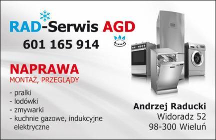 RAD-SERWIS AGD - Naprawa lodówek Wieluń