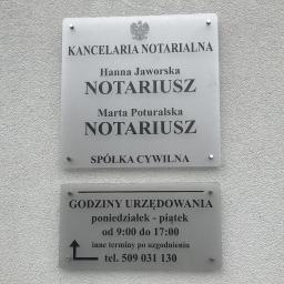 Kancelaria Notarialna Hanna Jaworska Marta Poturalska spółka cywilna - Prawo gospodarcze Mosina