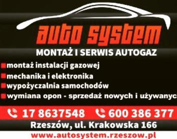AUTO SYSTEM - Elektryk samochodowy Rzeszów