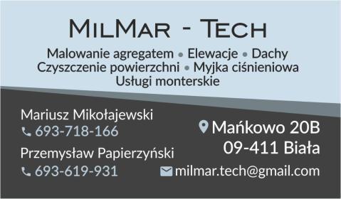 MilMar-tech - Odśnieżanie dachów Biała