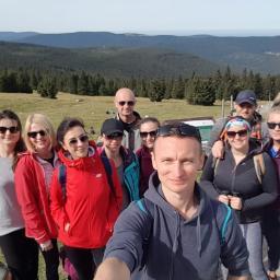 Nasz zespół w górach