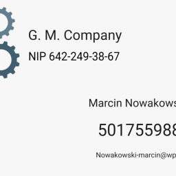 G.M.Company Marcin Nowakowski - Malarz Rybnik