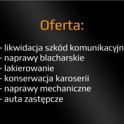 Lakmasters - Blacharstwo, lakiernictwo samochodowe Robakowo