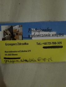 Profesjonalne wykonczenia wnetrz Grzegorz Zdrzałka - Montaż Sufitu Podwieszanego Marcinkowice