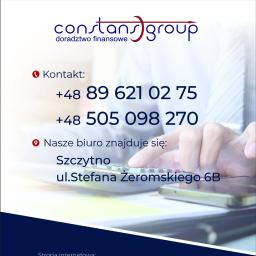 Constans Group spółka z o.o. - Biznes Plan Firmy Szczytno