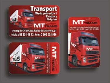 MT Trans Kobylińscy sp.j. - Transport ciężarowy krajowy Białystok