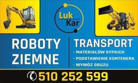 LUK-KAR - Roboty ziemne Pcim