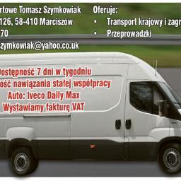 Usługi Transportowe Tomasz Szymkowiak - Bramy garażowe Ciechanowice