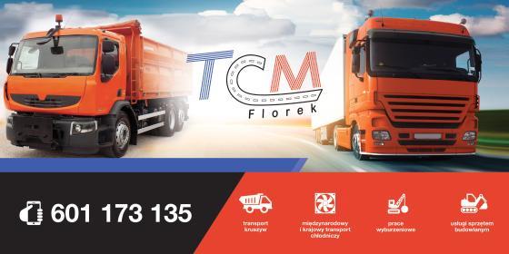 TCM Florek - Transport samochodów Mirków