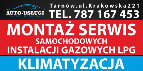 """Auto Gaz Montaż Serwis LPG """"AUTO-USŁUGI Marcin Stochmal"""" - Montaż Gazu Tarnów"""