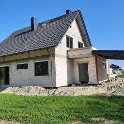 DOM M-G - Ściana Murowana Opole