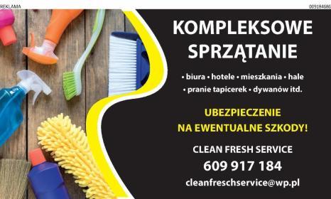 Firma Sprzątająca clean fresh service - Pomoc domowa Skórcz