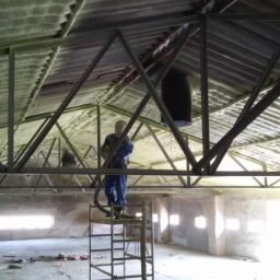 Izolacja dachu z eternitu