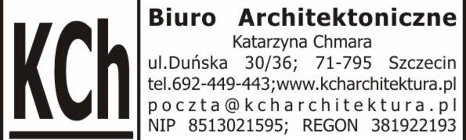 Kch Biuro Architektoniczne Katarzyna Chmara - Adaptacja projektów Szczecin