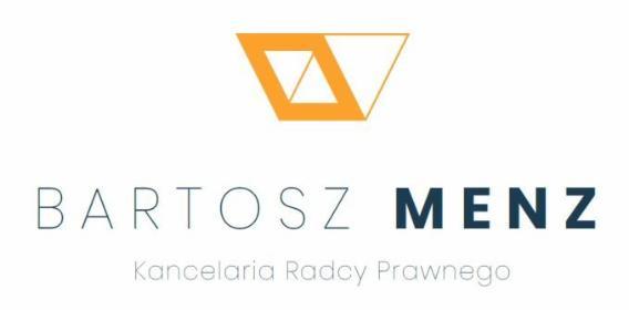 Kancelaria Radcy Prawnego Bartosz Menz - Usługi Gniezno