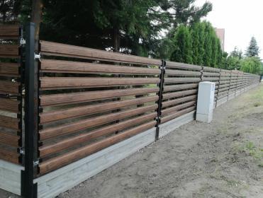 Ogrodzenia - produkcja montaż - Montaż ogrodzenia Zamość