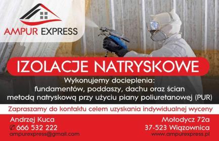 Ampur Express Andrzej Kuca - Ocieplenia Mołodycz