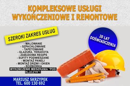Mariusz Skrzypek Usługi Remontowo - Budowlane - Remont łazienki Jarosław
