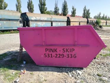 Pink Skip Wywóz gruzu Opole - Przetwarzanie odpadów Opole