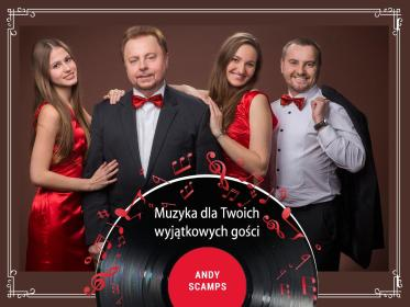 Andy Scamps Orchestra - Zespół muzyczny Szczecin